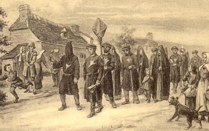 A parade of accursed Cagots