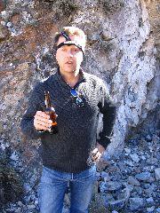 Me, Beer, Frisco, Utah