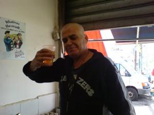 Beer & Sausage Man, Carmel Market, Tel Aviv