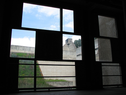 Windows onto Roof and Belfry