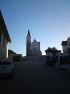 German church, Luderitz