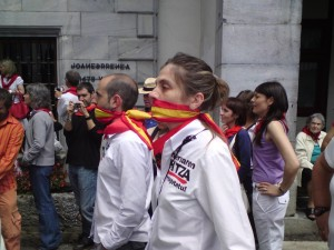 Basque Protestors