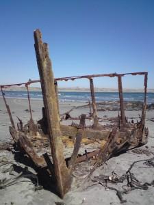 Shipwreck, Diamond Coast, Sperrgebiet