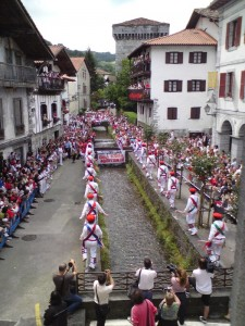 Ancient Basque Ceremony, Lesaka