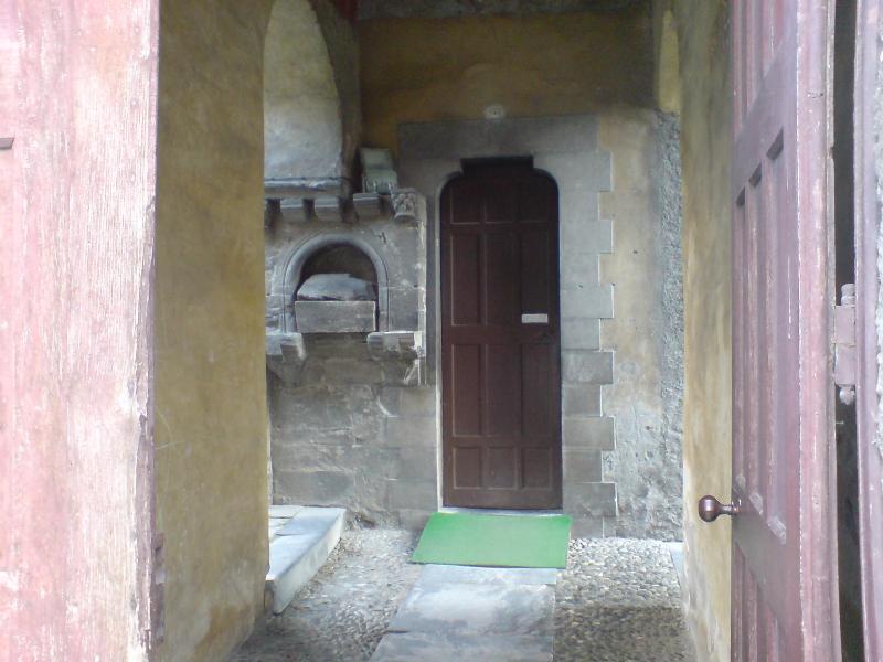 Cagot door at Luz Saint Sauveur