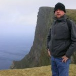 Me, standing on the Kame, Foula